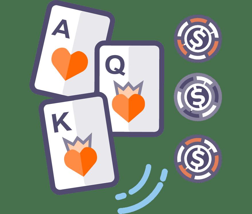 Los 52 mejores sitios de Casino de Póker de tres cartas en línea en Venezuela